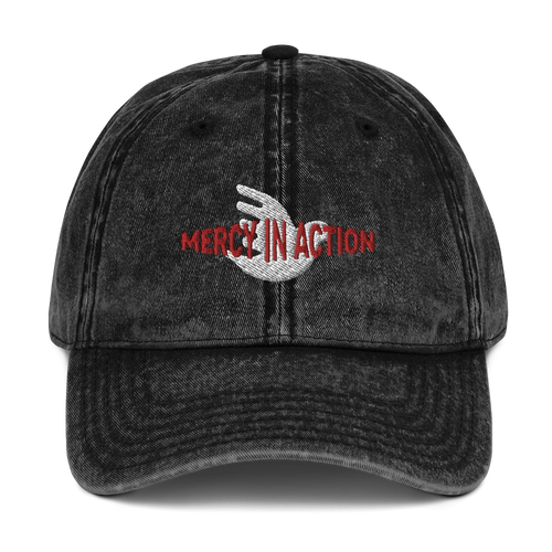 Mercy in Action Vintage Cotton Twill Cap