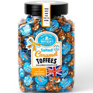 Walkers Nonsuch Salted Caramel Toffee Jar 1 x 2.5kg
