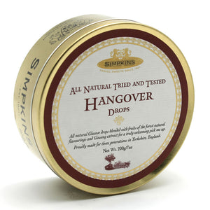 Simpkin's Travel Sweets Hangover Traditional Drops Tin 6 x 200g