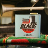Black Liquorice Company Motor Vintage Tin Light Blue 1 x 250g