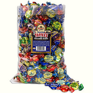Walkers Nonsuch Royal Assorted Toffee Poly Bag 1 x 2.5kg