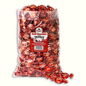 Walkers Nonsuch Dark Chocolate Covered Toffee Poly Bag 1 x 2.5kg