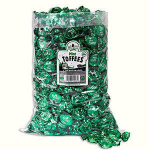 Walkers Nonsuch Mint Toffee Poly Bag 1 x 2.5kg