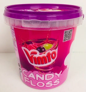 Rose Vimto Candy Floss 50g Tub 1 x 6pk