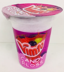 Rose Vimto Candy Floss 20g Tub 1 x 12pk