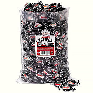 Walkers Nonsuch Liquorice Toffee Poly Bag 1 x 2.5kg
