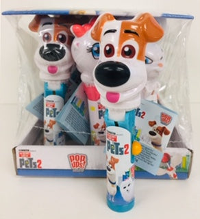 Secret Life of Pets 2 Pop Up Lollipops 12pk
