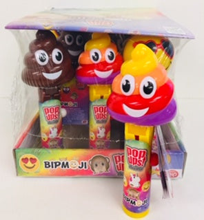 Bipmoji Pop Up Lollipops 12pk