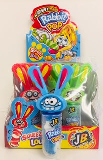 Johny Bee Rabbit Pops 12 x 23g