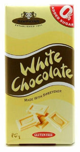 Simpkins No Added Sugar White Chocolate Bar 12 x 75g
