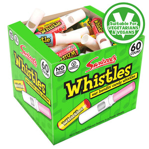 Swizzels Candy Whistles 60 x 6g