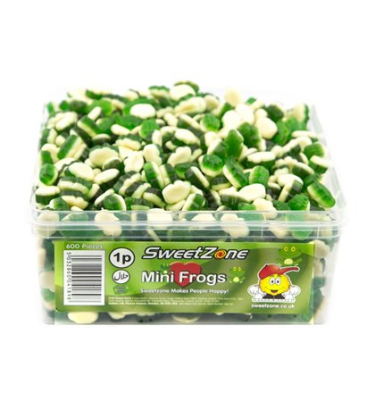 SweetZone 1p Mini Frogs 1 x 600pk