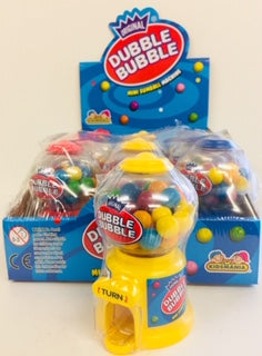 Dubble Bubble Mini Gumball Machines 12pk