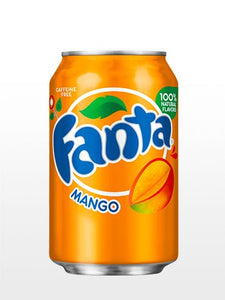 Usa Fanta Mango Can 12 x 355ml