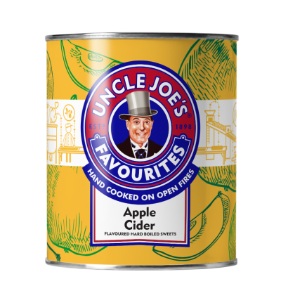 Uncle Joes Apple Cider Drinks Tin 6 x 120g