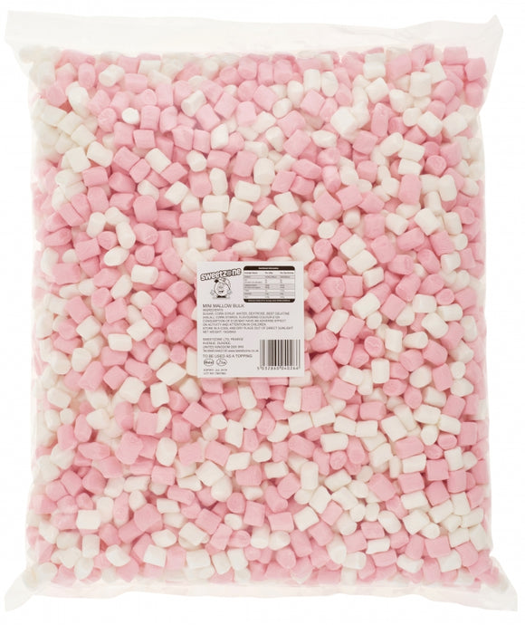 Pink & White Mini Mallows 1kg