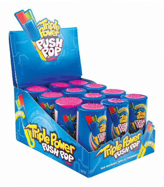 Triple Power Push Pop 12 x 34g