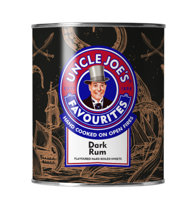 Uncle Joes Dark Rum Drink Tins 6 x 120g
