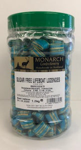 Monarch Confectionery Sugar Free Lifeboat Lozenges 1 x 1.2kg