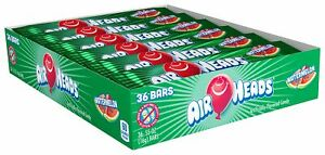 Airheads Watermelon Chew Bars 36 x 16g