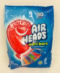 Airheads Assorted Mini Bars 80pk