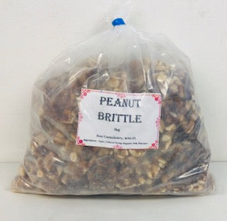 Rose Peanut Brittle Poly Bag 1 x 3kg