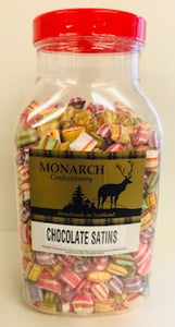 Monarch Confectionery Chocolate Satins Jar 1 x 3kg