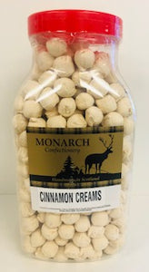 Monarch Confectionery Cinnamon Creams Jar 1 x 2kg