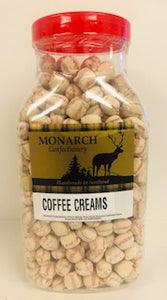 Monarch Confectionery Coffee Creams Jar 1 x 2kg