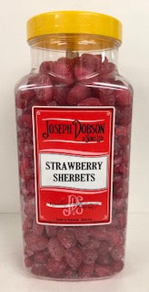 Joseph Dobson Strawberry Sherbets Jar 1 x 3kg
