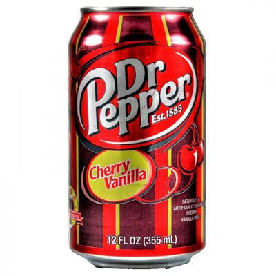 Dr Pepper Cherry Vanilla Cans 12 x 355ml