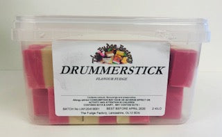 Fudge Factory Drumerstick Fudge Bulk Tub 1 x 2kg