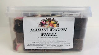 Fudge Factory Jammie Wagon Wheel Fudge Bulk Tub 1 x 2kg