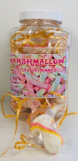 Stantons Marshmallow Rock Dummies Jar 1 x 20pk