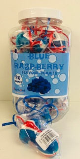 Stantons Blue Raspberry Rock Dummies Jar 1 x 20pk