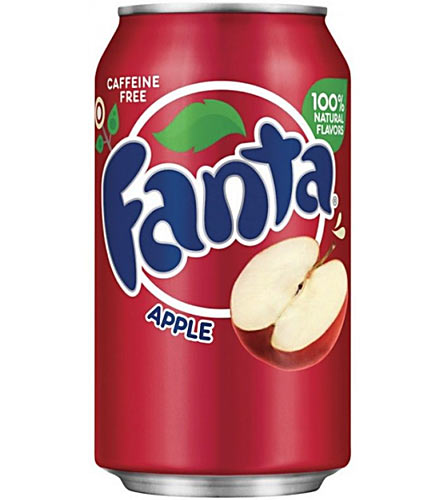 Usa Fanta Red Apple Can 12 x 355ml