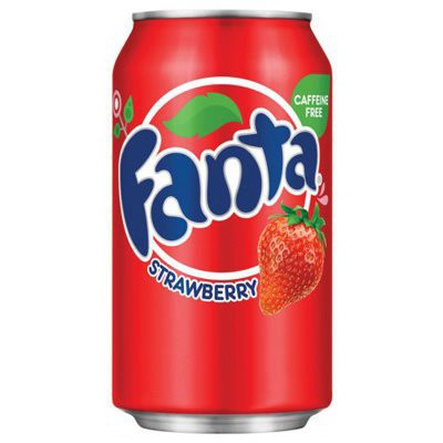 Usa Fanta Strawberry Can 12 x 355ml