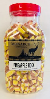 Monarch Confectionery Pineapple Rock Jar 1 x 3kg