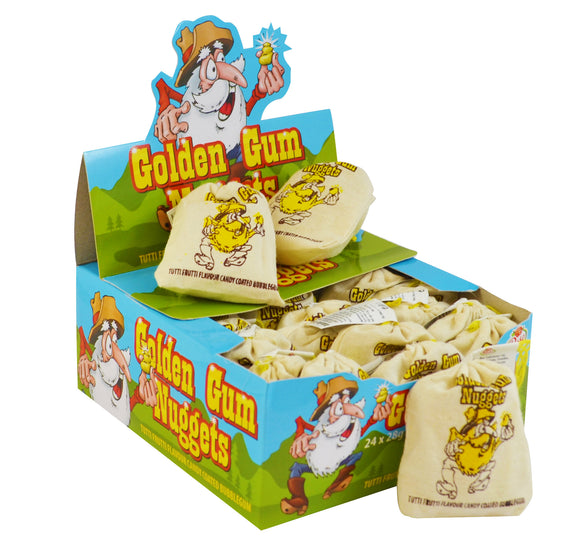Golden Gum Nugget Sacks 24 x 20g