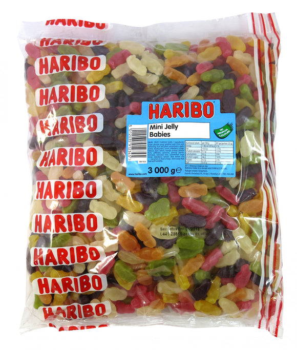 Haribo Mini Jelly Babies 3kg Bag