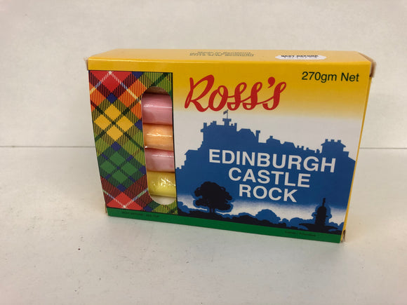 Ross's Edinburgh Castle Rock 12 Stick Gift Box 12 x 270g