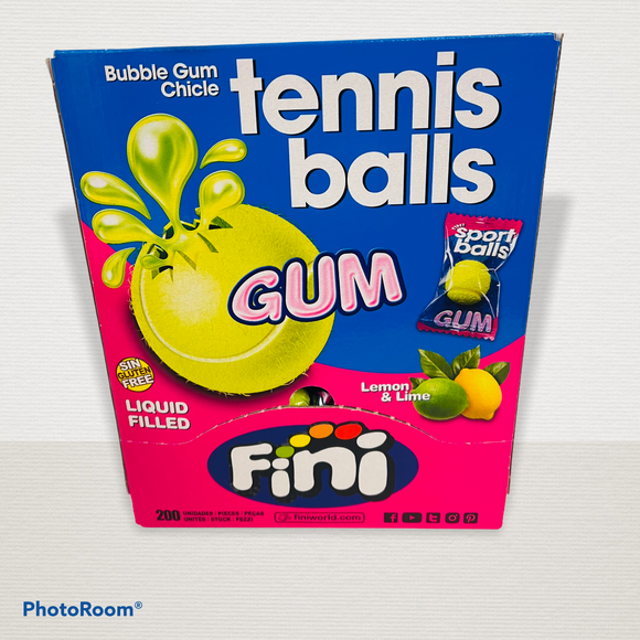 Fini Tennis Ball Gum 200 x 5p