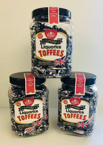 Walkers Nonsuch Liquorice Toffee Mini Jar 1 x 450g