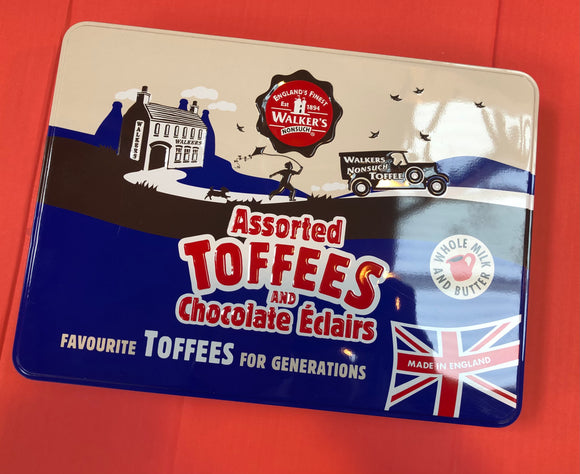 Walkers Nonsuch Assorted Toffee Tin 1 x 700g