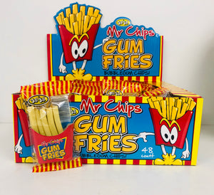 Mr Chips Gum Fries 48 x 15g