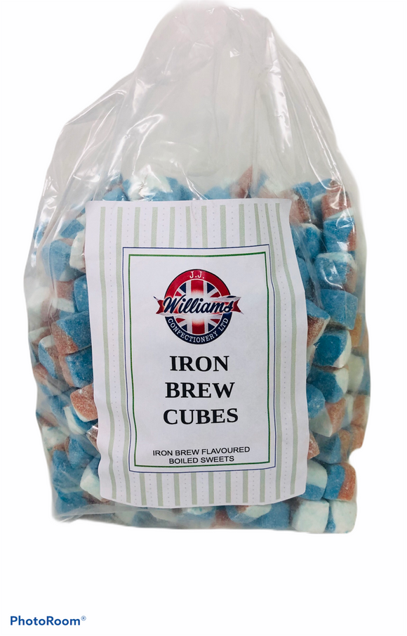 Mitre Confectionery Iron Brew Cubes Poly Bag 1 x 3kg