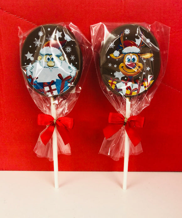 Orion Milk Chocolate Christmas Picture Lollies 18 x 25g