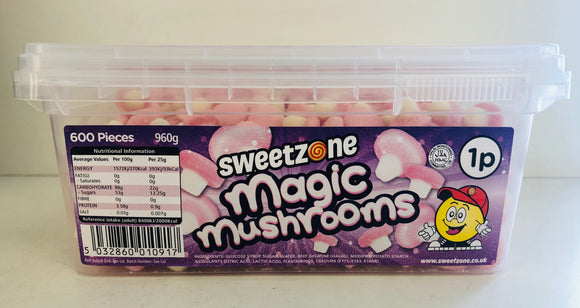 SweetZone 1p Sugared Magic Mushroom 1 x 600pk