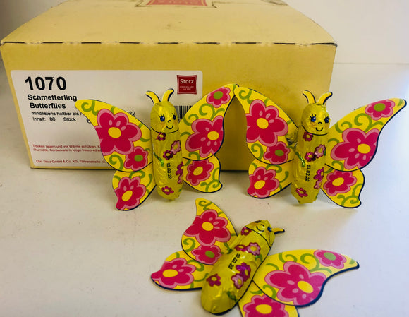 Orion Milk Chocolate Carded Butterflies 6.25g x 80pk
