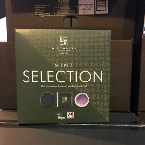 Whitaker's Chocolate Dark Mint Selection Box 16 x 80g